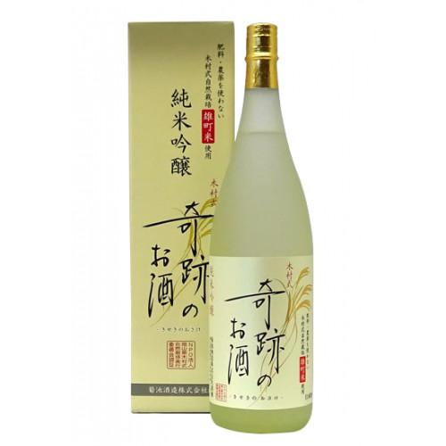 木村式奇跡酒純米吟嚷 朝日 720ML